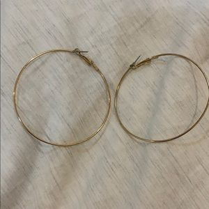 BP Large Hoop Earrings